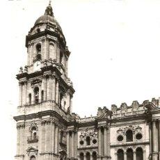 Postales: MALAGA: POSTAL DE LA CATEDRAL. ED. ARRIBAS. Nº 8. AÑO 1953. Lote 71062129