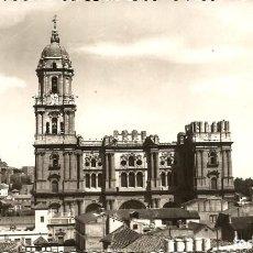 Postales: MALAGA: POSTAL DE LA CATEDRAL. ED. FOTO CORTÉS Nº 25. Lote 71063013