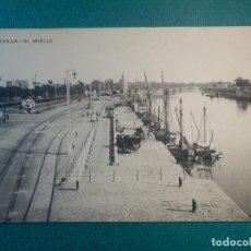 Postales: POSTAL - ESPAÑA - SEVILLA - EL MUELLE - SIN EDITOR - ED. MISSE ?. Lote 71234939