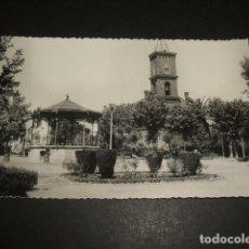 Postales: PEÑARROYA PUEBLONUEVO CORDOBA IGLESIA Y TEMPLETE MUSICA. Lote 71652175