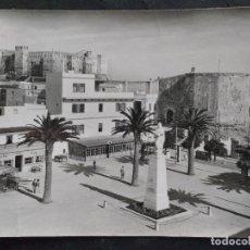 Postales: TARIFA, CADIZ. MONUMENTO A GUZMAN EL BUENO Y CASTILLO. Lote 71675395