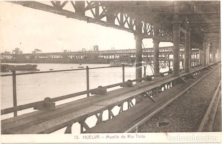 Postales: HUELVA MUELLE DE RIO TINTO - Foto 2 - 71696867