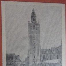 Postales: POSTAL SEVILLA REVERSO SIN DIVIDIR CIRCULADA EN 1900. Lote 72061963