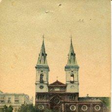Postales: CADIZ -PLAZA DE LA CONSTITUCIÓN-IGLESIA DE SAN ANTONIO. --1900- MUY RARA. Lote 72098391