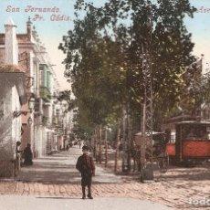 Postales: SAN FERNANDO PR. CADIZ AVENIDA BERANGER MÜNCHEN. Lote 72313791