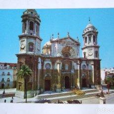 Postales: POSTAL CADIZ - CATEDRAL - FACHADA PRINCIPAL -1962 - SICILIA 1 - SIN CIRCULAR. Lote 73349363