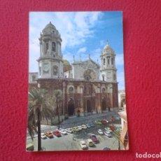 Postales: TARJETA PUBLICITARIA POSTAL HAY - VIT PUBLICIDAD LABORATORIOS CHEMINOVA ESPAÑOLA CATEDRAL DE CADIZ. Lote 73452335