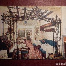 Postales: POSTAL - ESPAÑA - SEVILLA - CAFÉ - RESTAURANTE LOS CORALES - SIERPES 102 - IMP. RAIMUNDO - NE - NC. Lote 73464019