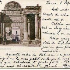 Postales: CÓRDOBA-PUERTA DEL PUENTE ROMANO- 1907-- MUY RARA. Lote 73495415