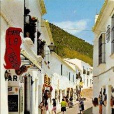 Postales: POSTAL 1712 MIJAS CALLE RAMÓN Y CAJAL SIERRA MÁLAGA ANDALUCÍA ESPAÑA COSTA SOL. Lote 57300727