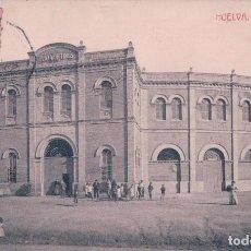 Postales: POSTAL HUELVA - PLAZA DE TOROS - THOMAS - M MORA - CIRCULADA. Lote 73819071