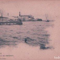 Postales: POSTAL AYAMONTE HUELVA - MUELLE DE PONIENTE - RAFAEL GONZALEZ 15 - HAUSER Y MENET. Lote 73829111