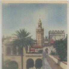 Postales: POSTAL DE SEVILLA. GIRALDA DESDE LOS REALES ALCAZARES Nº 45 P-ANSE-1908. Lote 73883571