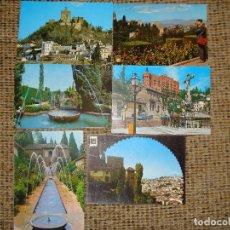 Postales: LOTE DE 6 POSTALES DE GRANADA. Lote 73958667