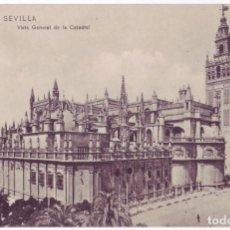 Postales: SEVILLA: VISTA GENERAL DE LA CATEDRAL. M. CHAPARTEGUY. NO CIRCULADA (AÑOS 10). Lote 74183387