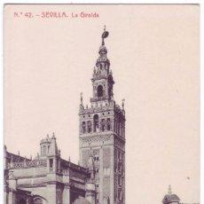 Postales: SEVILLA: LA GIRALDA. FOTOTIPIA THOMAS. NO CIRCULADA (AÑOS 10). Lote 74184655