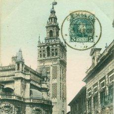 Postales: SEVILLA LA GIRALDA CIRCULADA EN 1903 RARA. Lote 74472431