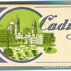 Postales: CADIZ BLOC COMPLETO CON 20 POSTALES. L. ROISIN, FOTÓGRAFO.. Lote 74631399