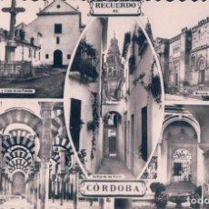 Postales: POSTAL DE RECUERDO DE CORDOBA - CIRCULADA - EDICIONES ARRIBAS. . Lote 74865835