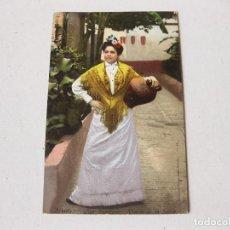 Postales: POSTAL PURGER & CO. 1932 TIPO SEVILLANO - VUELTA DE LA FUENTE - COLECCION TOMAS 45 - BUEN ESTADO. Lote 195095778