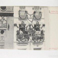 Postales: POSTAL STENGEL & CO. 22325 - SIN CIRCULAR - SEVILLA - TRIANA - CONCURSO DE BALCONES. Lote 75699299