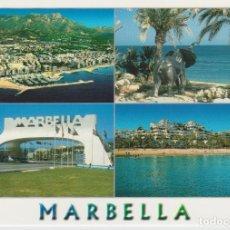 Postales: (1314) MARBELLA. PLAYA DE LA FONTANILLA, PUERTO, FARO. Lote 75801127