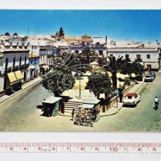 Postales: POSTAL DE ALCALÁ DE GUADAÍRA DE PLAZA FALANGE ESPAÑOLA. Lote 86901850