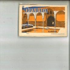 Postales: GRANADA (1). VISTAS DE LA ALHAMBRA. LUCIANO ROISIN. Lote 76624203
