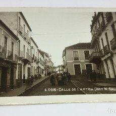 Postales: ANTIGUA POSTAL DE COIN - MALAGA - CALLE VICARIO - NO CIRCULADA . Lote 77318381