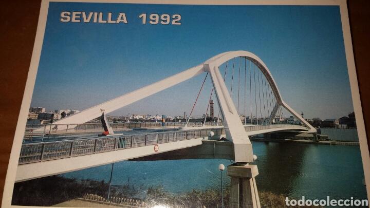 ACORDEÓN 10 POSTALES EXPOSICIÓN UNIVERSAL EXPO 1992 SEVILLA (Postales - España - Andalucia Moderna (desde 1.940))