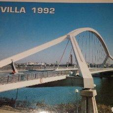 Cartoline: ACORDEÓN 10 POSTALES EXPOSICIÓN UNIVERSAL EXPO 1992 SEVILLA. Lote 77541563