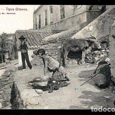 Postales: POSTAL MALAGA.TIPOS GITANOS 94.L.ROISIN. Lote 78626929