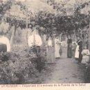 Postales: LA ALISEDA (JÁEN).- EMPARRADO A LA ENTRADA DE LA FUENTE DE LA SALUD. Lote 78828957