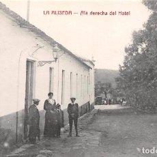 Postales: LA ALISEDA (JAEN).- ALA DERECHA DEL HOTEL. Lote 78829113