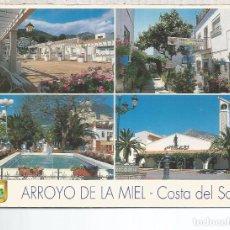 Postales: MALAGA ARROYO DE LA MIEL ESCRITA. Lote 79323373