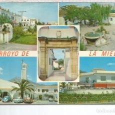 Postales: MALAGA ARROYO DE LA MIEL ESCRITA. Lote 79323517