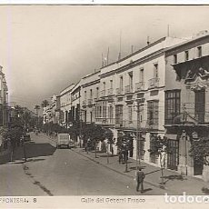 Postales: X116414 ANDALUCIA CADIZ CAMPINA DE JEREZ DE LA FRONTERA CALLE DEL GENERAL FRANCO. Lote 79681657