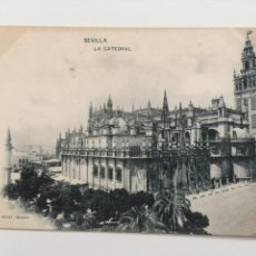 Postales: POSTAL, 8 HAUSER Y MENET, SEVILLA , LA CATEDRAL. Lote 80364973