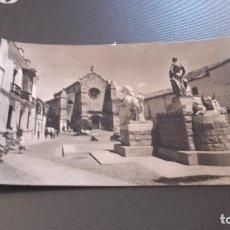 Postales: POSTAL DE CÓRDOBA - MONUMENTO A MANOLETE - NO ESCRITA NI CIRCULADA. Lote 80478665
