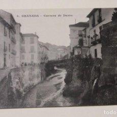 Postales: GRANADA, CARRERA DE DARRO. POSTAL FOTOGRAFICA. Lote 80885275