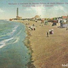 Postales: POSTAL CHIPIONA.CADIZ.SANTUARIO Y CONVENTO DE Nª SEÑORA DE REGLA.C.R.S.. Lote 83154884