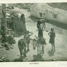 Postkarten - MÁLAGA. GITANOS CON BURRO.HACIA 1920. - 83315236