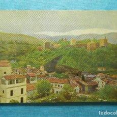 Postales: POSTAL - ESPAÑA - GRANADA - VISTA ALHAMBRA Y SIERRA NEVADA - BODEGAS J. BATALLÉ - NE - NC. Lote 83432368