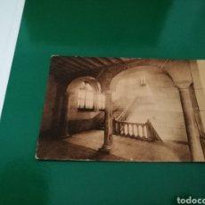 Postales: POSTAL DEL SACRO MONTE DE GRANADA. LA ESCALERA DE MÁRMOL. AÑOS 20.HUECOGRABADO MUMBRÚ. Lote 83559848