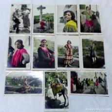 Postales: 11 ANTIGUAS POSTALES GRANADA - GITANA. NO CIRCULADAS. FOTOGRAFIA L. ROISIN. VER. Lote 83712444