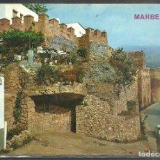 Postales: 2043 - MARBELLA - VISTA PARCIAL DEL CASTILLO - ED. ARRIBAS 1968 -. Lote 83771304
