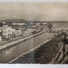 Postales: POSTAL FOTOGRÁFICA. RIO DE LA MIEL Y PUERTO. ALGECIRAS. CÁDIZ.. Lote 83932652