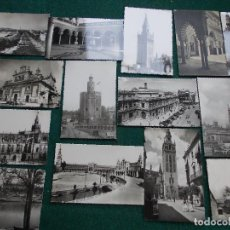 Postales: LOTE DE 14 POSTALES ANTIGUAS DE SEVILLA. Lote 84586336