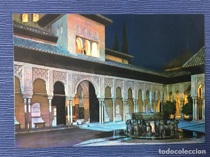 POSTAL GRANADA, ALHAMBRA, PATIO DE LOS LEONES (Postales - España - Andalucia Moderna (desde 1.940))