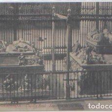 Postales: POSTAL GRANADA CAPILLA REAL SEPULCRO DE LOS REYES CATOLICOS ED. GARZON N° 22. Lote 84732564